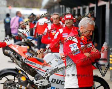 World Moto GP Championship. Round17 @ Phillip Island. Australia. Michelin Australian Motorcycle Grand Prix. Friday. 26.10.2018.  Davide Tardozzi (ITA), manager of the Ducati Team. Face of a defeated man and team. © ATP / Damir IVKA