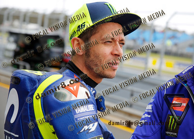 World Moto GP Championship. Round17 @ Phillip Island. Australia. Michelin Australian Motorcycle Grand Prix. Friday. 26.10.2018. #46 Valentino ROSSI (Ita) Movistar Yamaha MotoGP.© ATP / Damir IVKA
