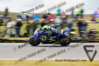 World Moto GP Championship. Round17 @ Phillip Island. Australia. Michelin Australian Motorcycle Grand Prix. Saturday. 27.10.2018.#46 Valentino ROSSI (ITA) Movistar Yamaha MotoGP, quailified 7th.© ATP / Damir IVKA