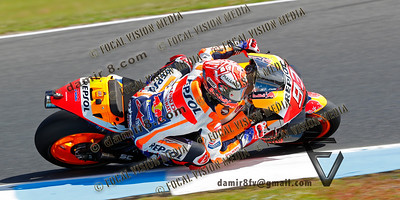 World Moto GP Championship. Round17 @ Phillip Island. Australia.  Michelin Australian Motorcycle Grand Prix.  Saturday. 27.10.2018.  #93 Marc MARQUEZ (Spa) Repsol Honda Team. © ATP / Damir IVKA