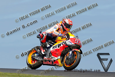 World Moto GP Championship. Round17 @ Phillip Island. Australia. Michelin Australian Motorcycle Grand Prix. Saturday. 27.10.2018.Fastest quailifyer is #93 Marc MARQUEZ (ESP) Repsol Honda Team.© ATP / Damir IVKA