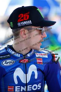 World Moto GP Championship. Round17 @ Phillip Island. Australia. Michelin Australian Motorcycle Grand Prix.  Sunday. 28.10.2018.  Race winner. #25 Maverick VINALES (ESP) Movistar Yamaha MotoGP.  © ATP / Damir IVKA