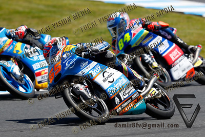 World Moto GP Championship. Round17 @ Phillip Island. Australia. Michelin Australian Motorcycle Grand Prix. Sunday. 28.10.2018.  #65 Philipp OETTL (GER) Sudmetal Schedl GP Racing. Moto 3.  © ATP / Damir IVKA