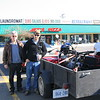 Gord and Ken in Port Huron Michigan on our way home from Ohio with the Eldorado. Late 2005.