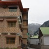 Rose Hotel nestled into the mountains in Naran