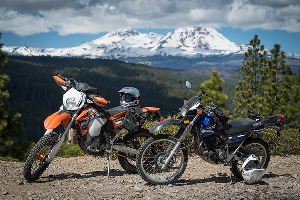 Moto to 3 Creeks Butte