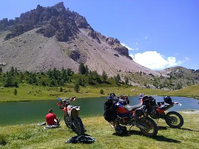 lac des lauzes