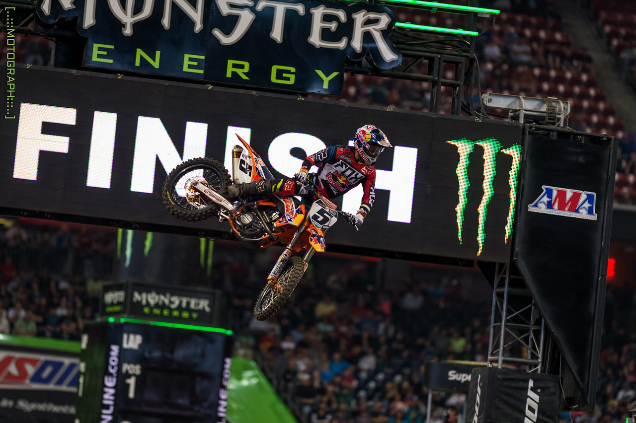 Ryan Dungey took 7th overall