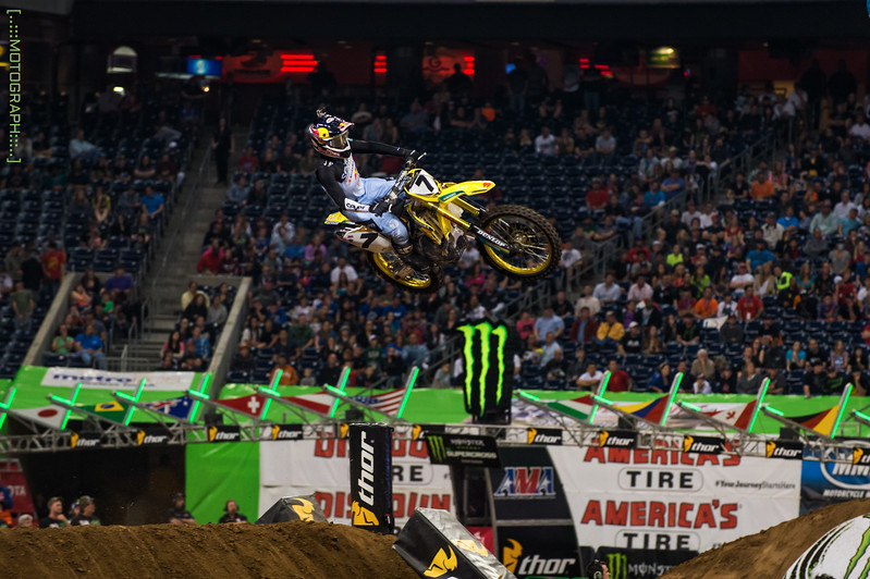 James Stewart battled stomach problems to pull 5th on the night breaking his win streak