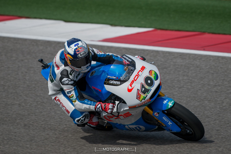Moto2 race winner Maverick Vinales