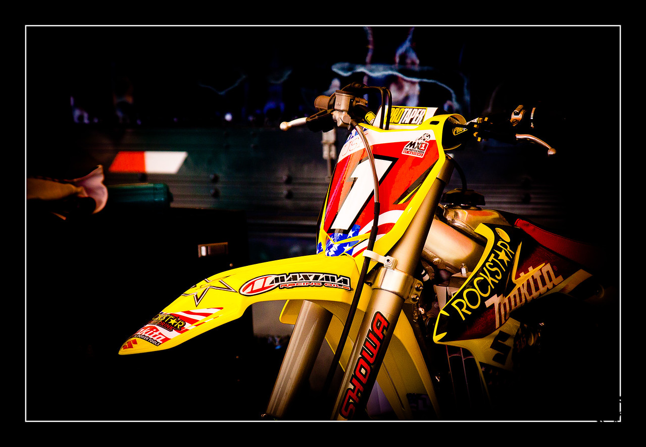 The #1 Suzuki of Ryan Dungey at the 2010 Motocross of Nations
