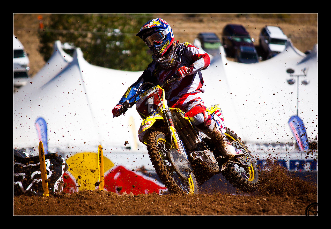 USA Champion Ryan Dungey at the 2010 Motocross of Nations