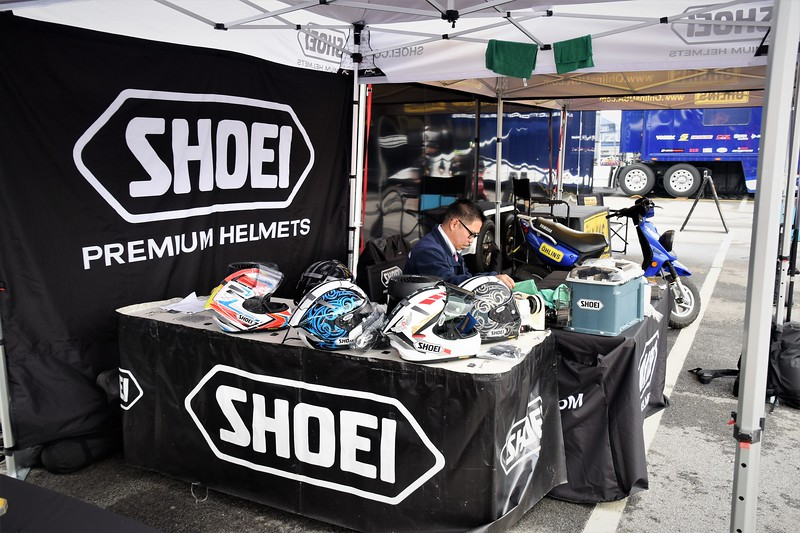 SHOEI PREMIUM HELMETS. ..My favorite..<br /> Each helmet manufacturer has a facility to clean helmets and replace visors.