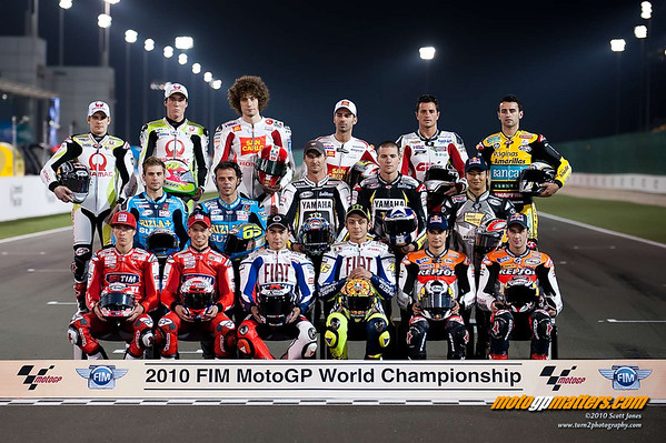 The 2010 MotoGP riders