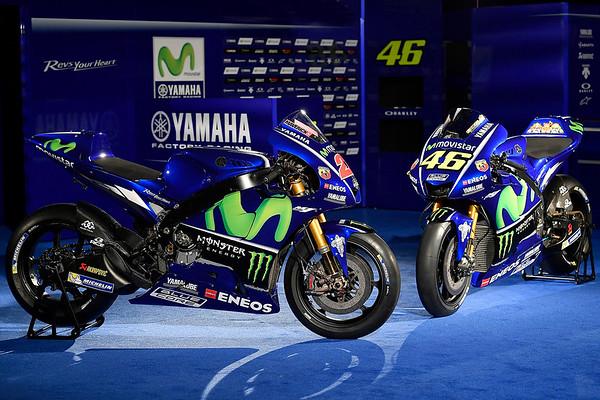 2017 Movistar Yamaha MotoGP livery