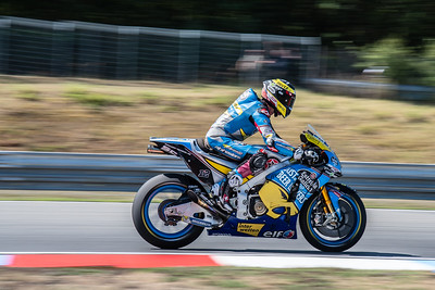 Brno/Czech Republic - 08/03/2018 - #12 Thomas Luthi (CH, Marc VDS Honda) during FP1 at Brno