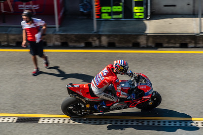 Brno/Czech Republic - 08/03/2018 - #04 Andrea Dovizioso (ITA, Ducati) during FP1 at Brno