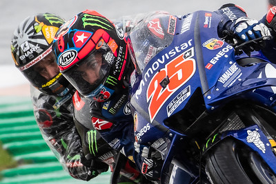 Maverick VINALES and Johann ZARCO, Spain/Cheste, 2018