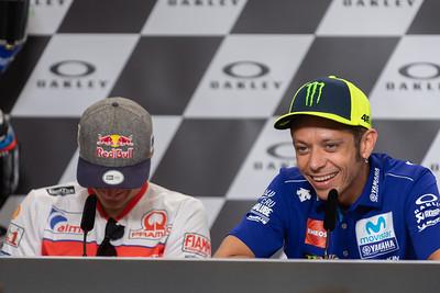 Riders press conference, Mugello, 2018
