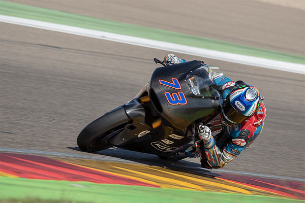Alex Marquez on the Kalex Triumph Moto2 bike