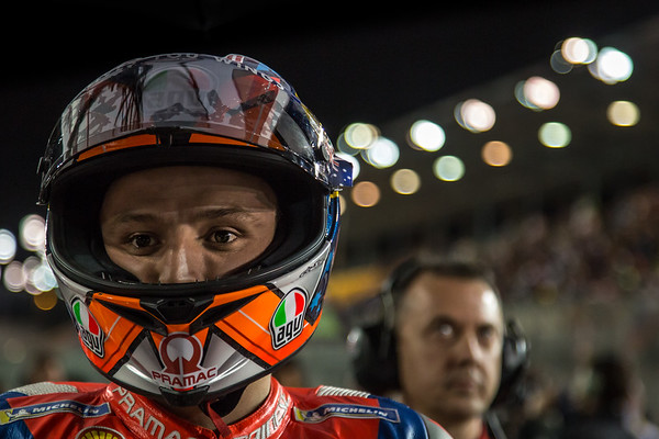 Jack Miller on the grid at Qatar
