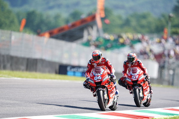 Andrea Dovizioso and Michele Pirro at Mugello 2019