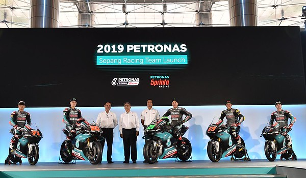 Petronas Sepang Racing Team unveil their 2019 livery in Malaysia