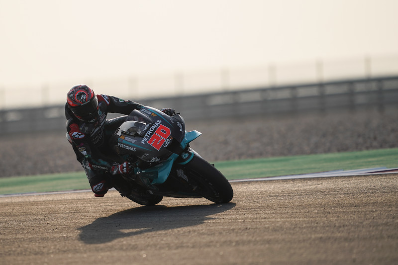 Fabio Quartararo at the 2020 Qatar MotoGP Test