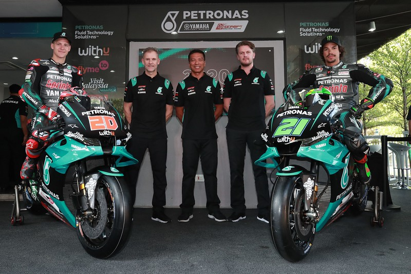 The 2020 Petronas Yamaha SRT team