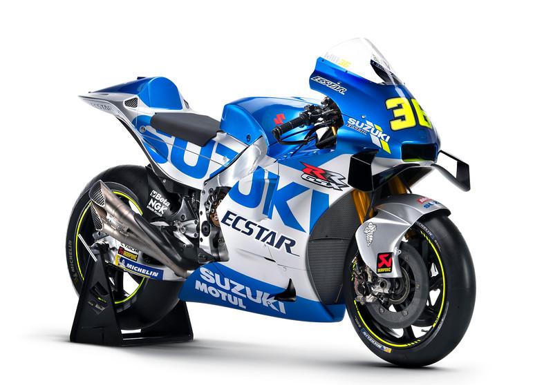 The 2020 Suzuki Ecstar MotoGP Livery