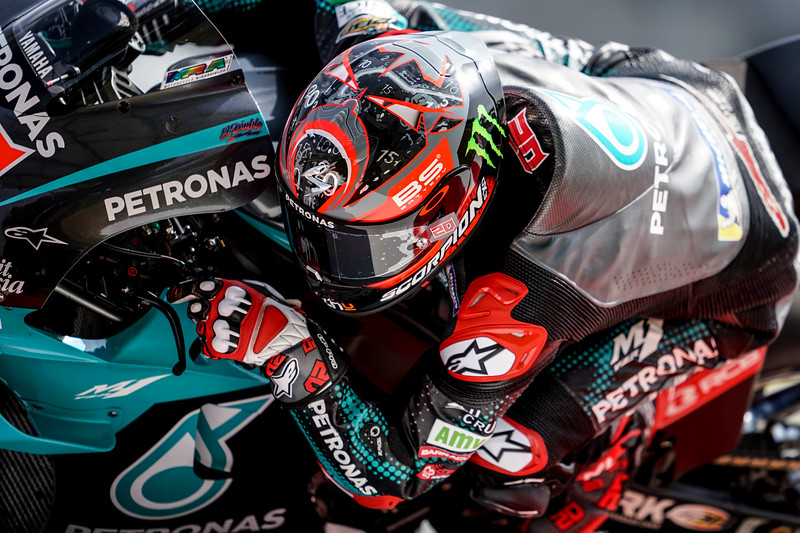 Fabio Quartararo at the 2020 Sepang MotoGP test