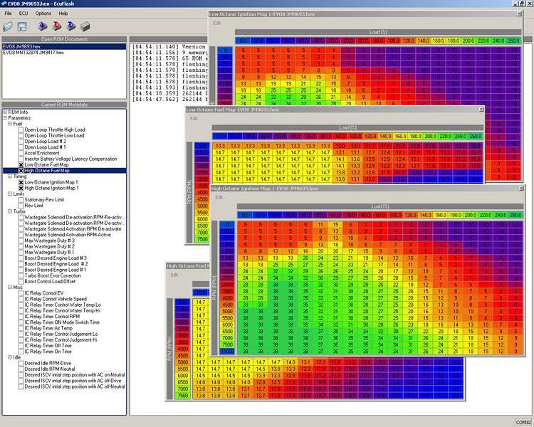 ECU Flash screenshot