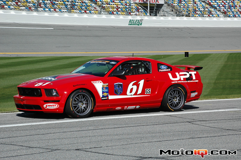 Billy Johnson Roush Mustang