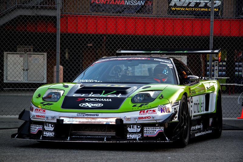 Billy Johnson FX Motorsports Development NSX Redline Time Attack Cal speedway