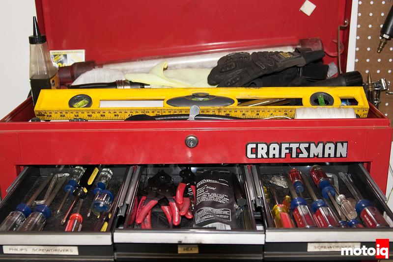 Sarah's tools