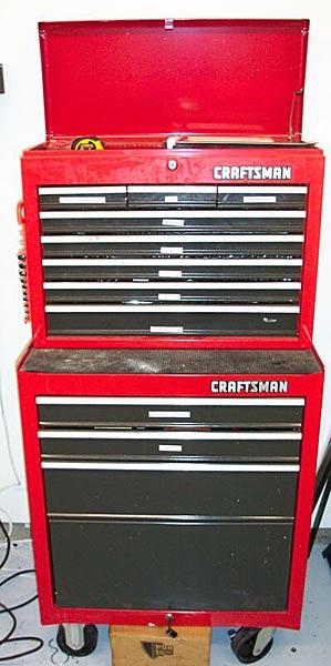 Sarah's (tool) rack!