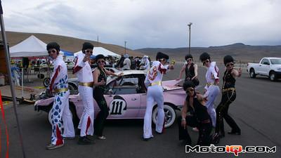 Frankenmiata miatallac elvis pink cadillac