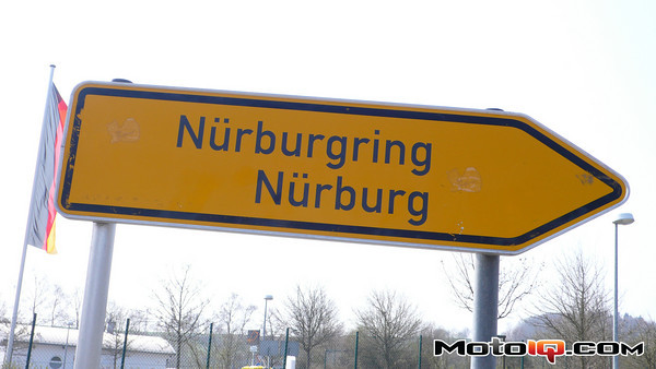 Nurburgring sign