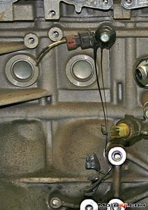 Technobabble SR20 melted knock sensor
