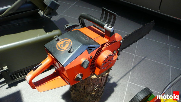 sachs rotary powered chainsaw museum autovision germany
