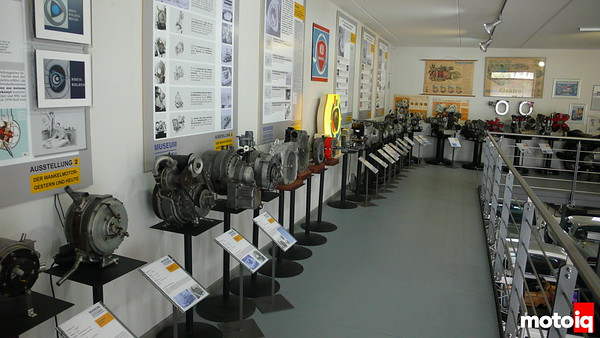 rotary collection at museum autovision in germany