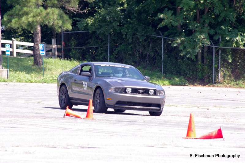 Mustang auto crossing