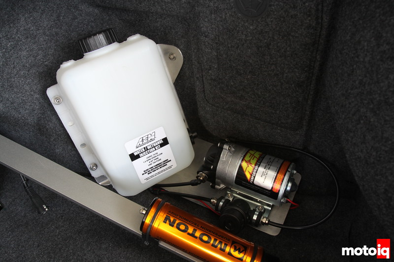 AEM Water Methanol Injection monitor