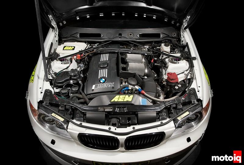 Berk Technology's BMW 135I Time Attack Demonstrator