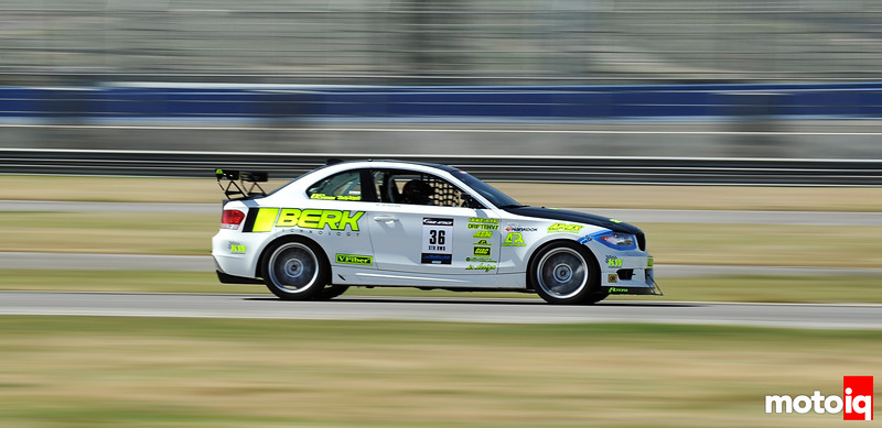 Berk Technology's BMW 135I Time Attack Demonstrator