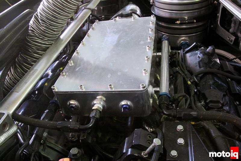 Turbo NSX intake manifold plenum