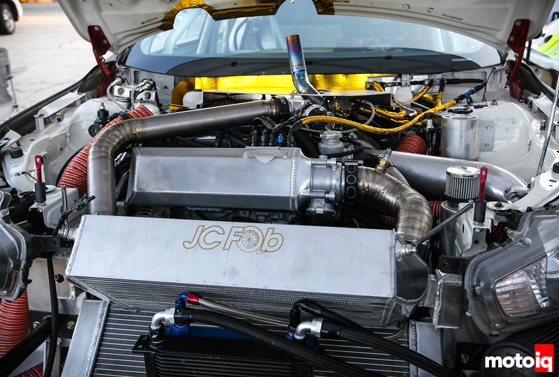 Boyd Racing EvoX engine bay