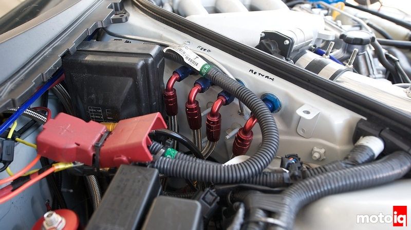 Nissan GTR return type fuel system for E85