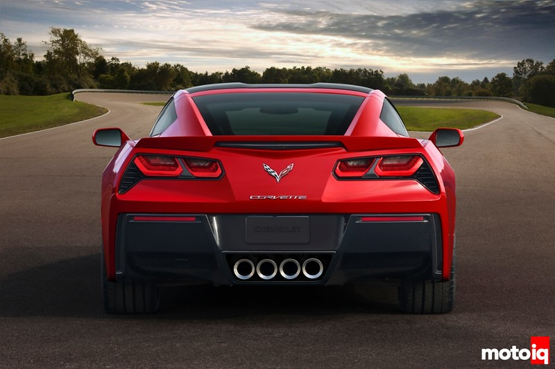 corvette cy stingray, tail lights