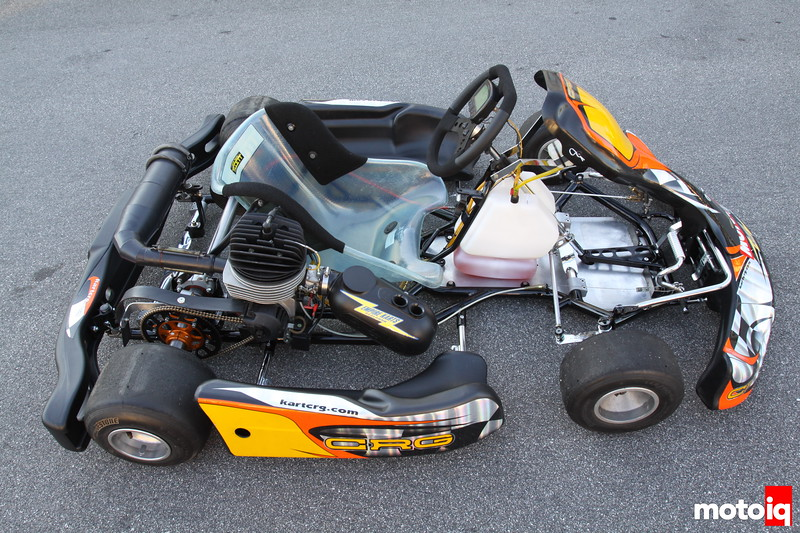 Project CRG HPV-4  Go Kart
